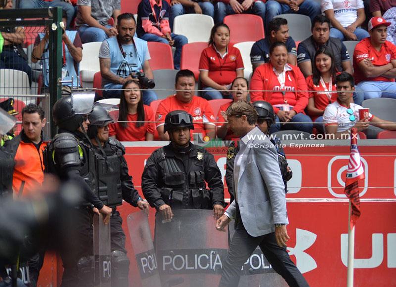 Suma Cristante cinco expulsiones cuando el Toluca no pierde