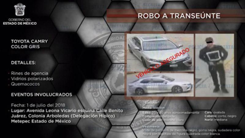 Capturan en Querétaro a venezolano acusado de robar en valle de Toluca