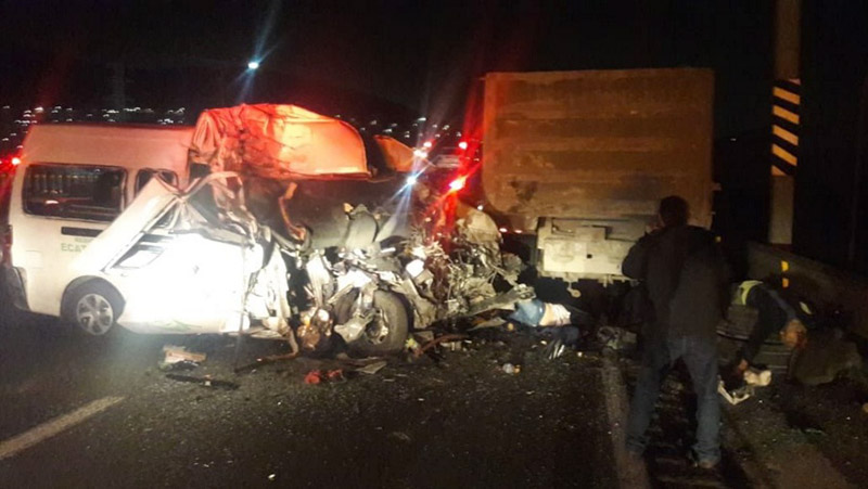 Deslindan responsabilidad a chofer por accidente en la México-Pachuca