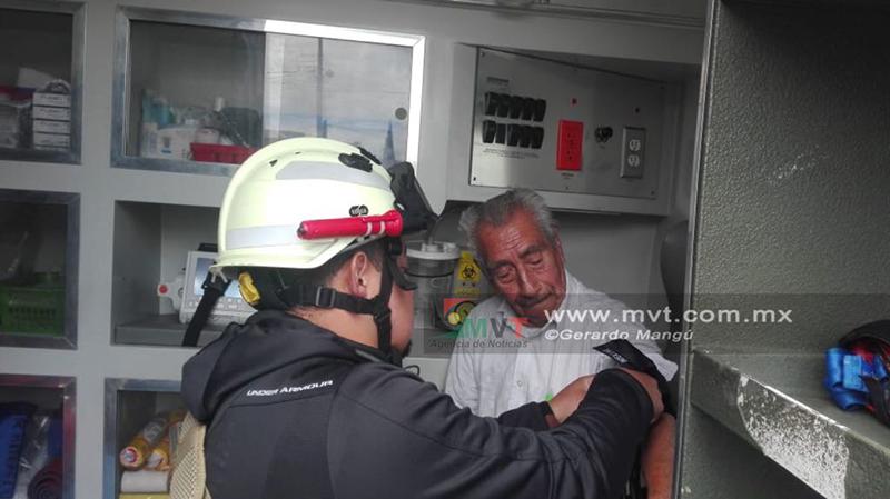Provoca tanque de gas incendio en Metepec