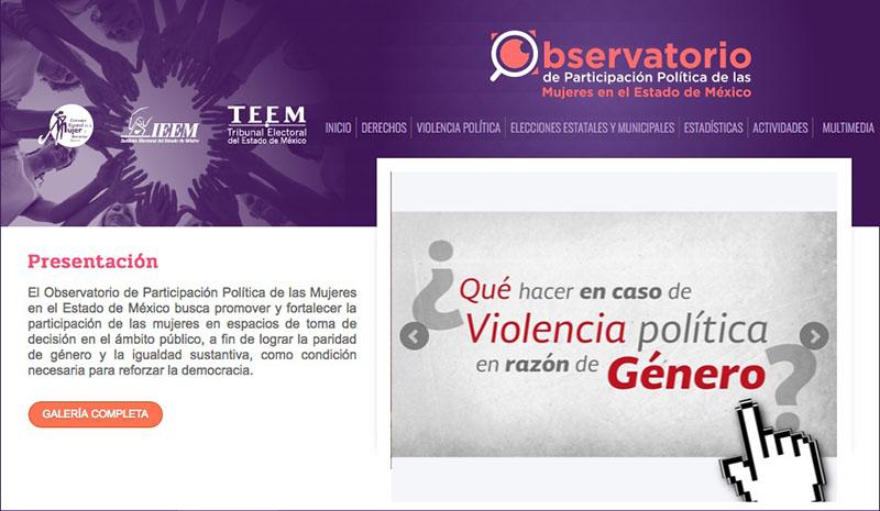 Lanza IEEM mini sitio para atender violencia de género