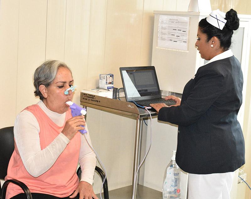 Cuenta ISEM con 21 unidades de detección de asma y enfisema pulmonar
