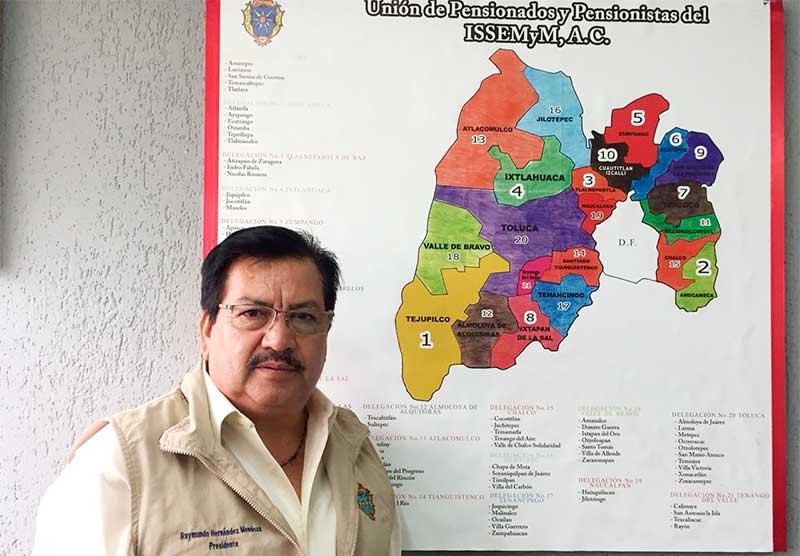 Garantiza ISSEMyM medicamentos y apoyos a pensionados: UPPIAC