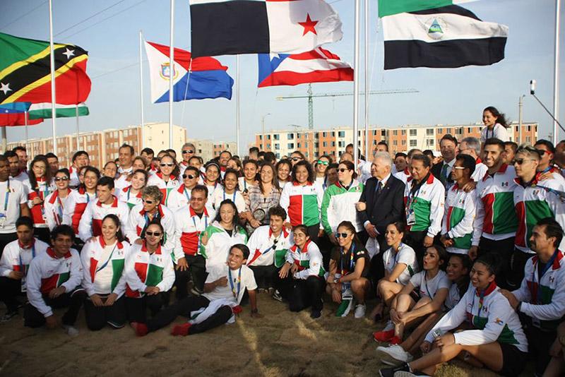Van 73 mexiquenses a Juegos Centroamericanos en Colombia