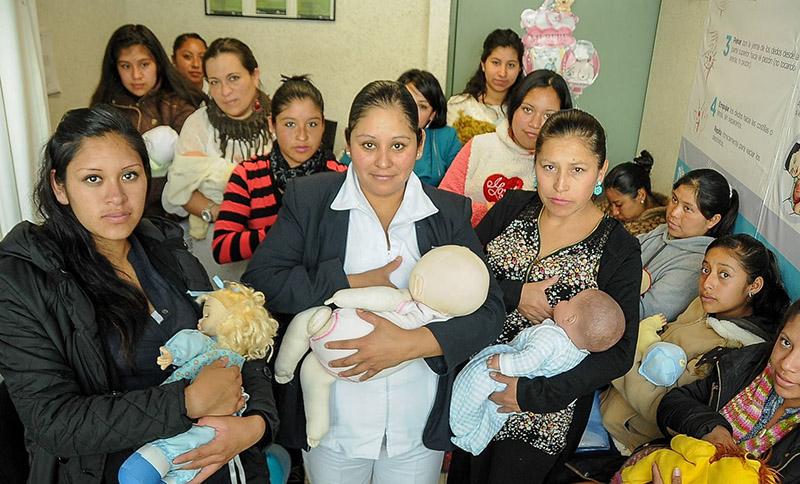 Más de 90 mil mujeres mexiquenses mejoran lactancia materna