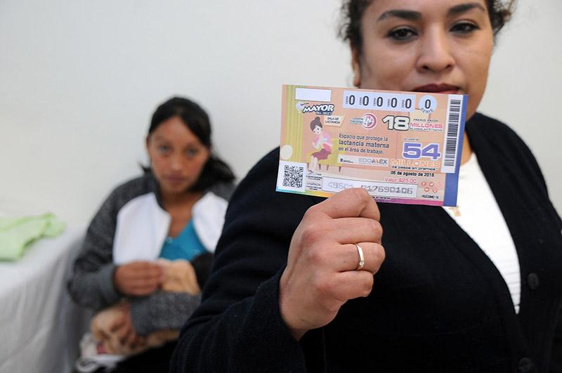 Es Secretaría de Salud imagen de billete de lotería