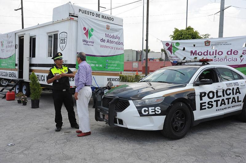 """Instalan 17 módulos del programa """"Migrante Mexiquense"""""""