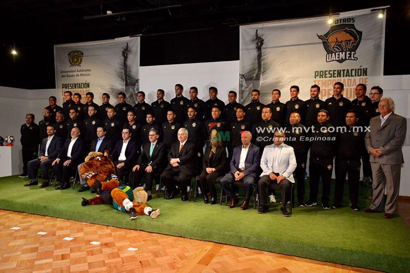 Presentan a Potros UAEM FC para temporada 2018-2019
