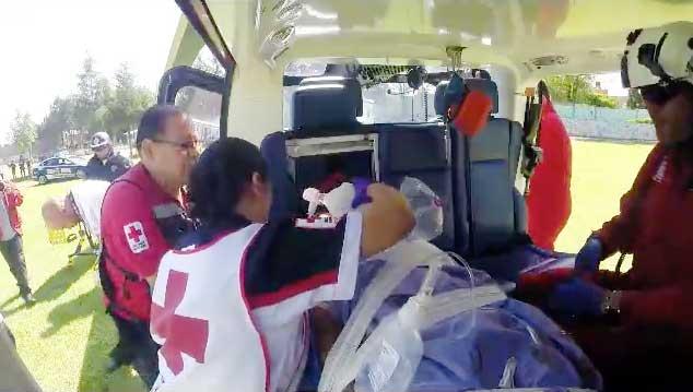 De los 54 heridos de ayer por explosión en Tultepec, solo 13 han sido dados de alta en hospitales