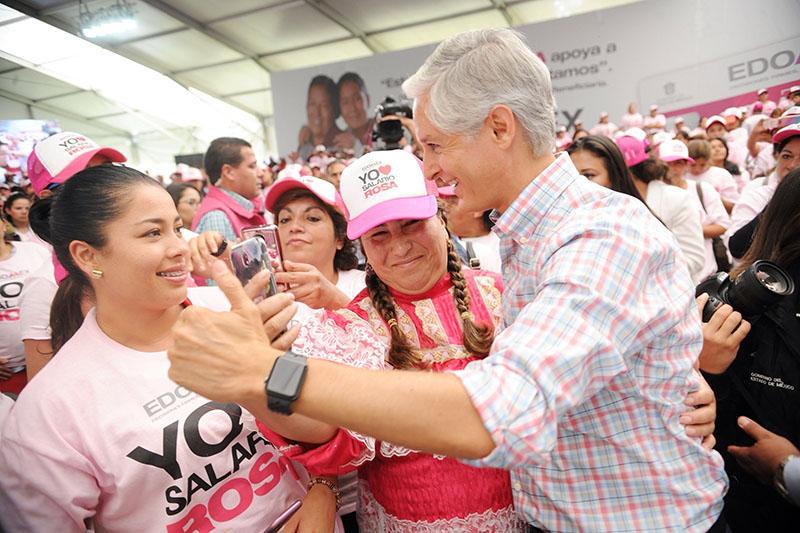 """Recibirán mujeres 2 mil 400 pesos bimestrales con """"salario rosa"""""""