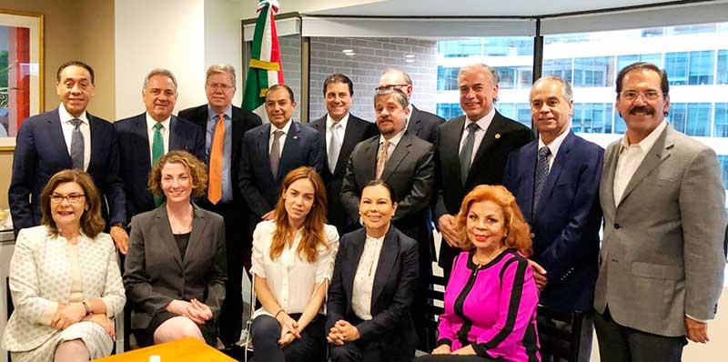 Inicia gira de trabajo de Legisladores Mexicanos para abordar política de control migratorio