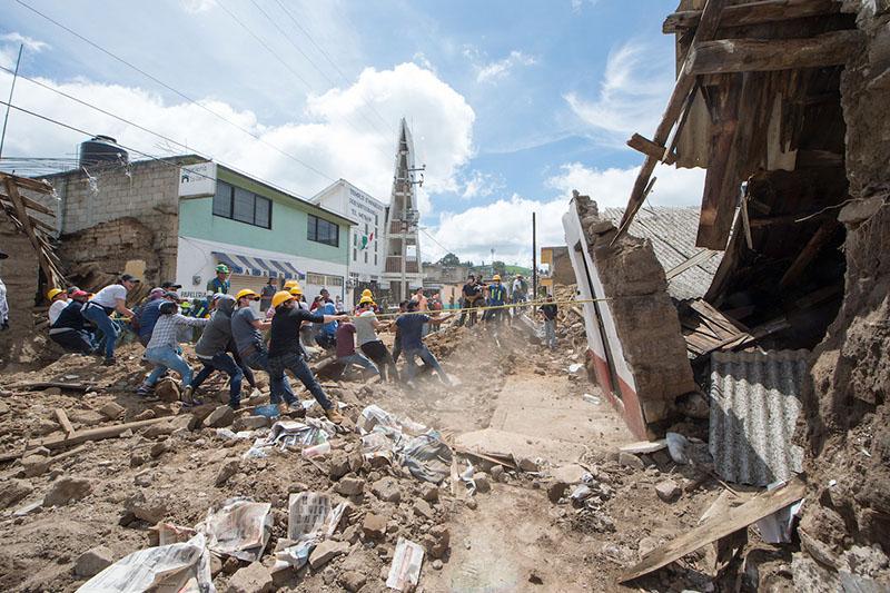 Solicitan a gobierno mexiquense rendir cuentas sobre fondos de reconstrucción por sismo