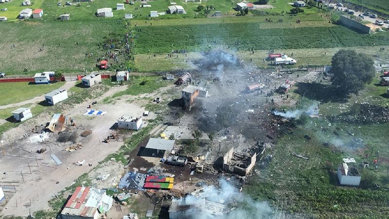 En un mes, suman 24 muertos y 47 lesionados por explosiones en Tultepec