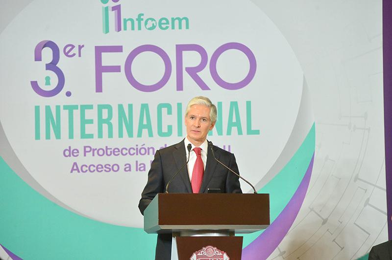 Inauguran Foro Internacional de Protección de Datos y Acceso a la Información