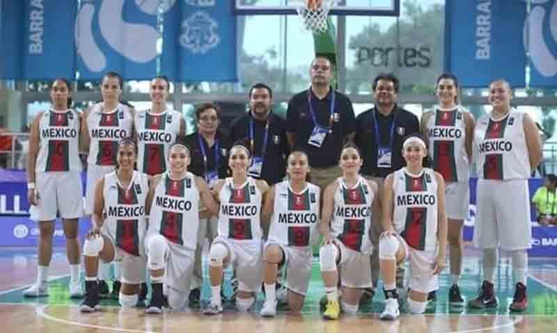 Sucumbe México ante Cuba en basquetbol femenil