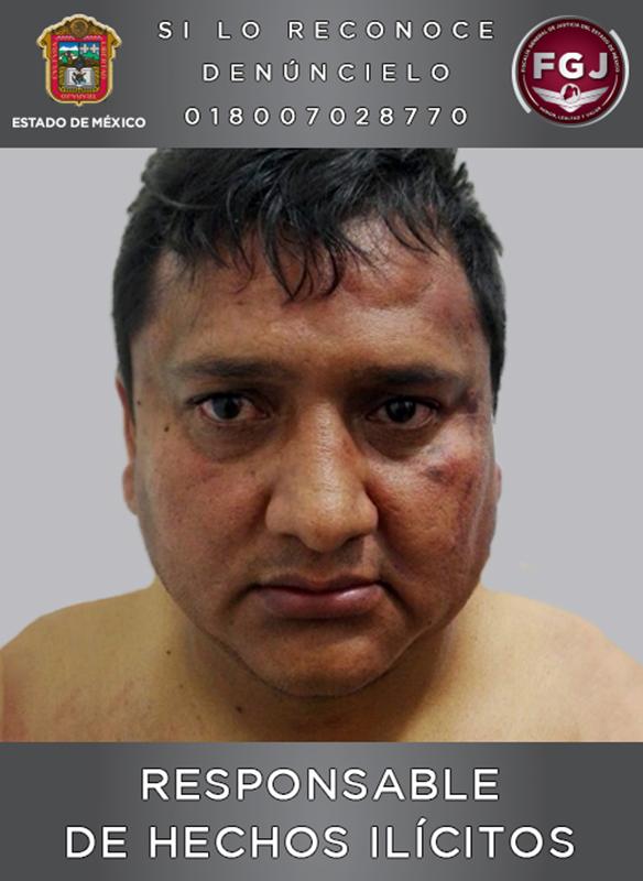Le dan 43 años de cárcel a extorsionador que operaba en Toluca