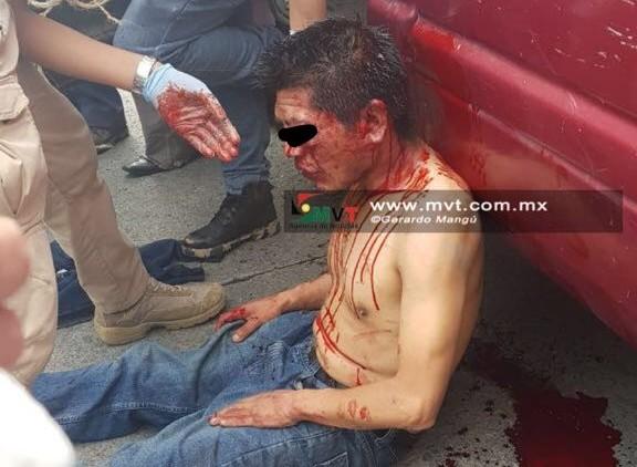 Amagan con linchar a sospechoso en San Lorenzo Tepatitlán
