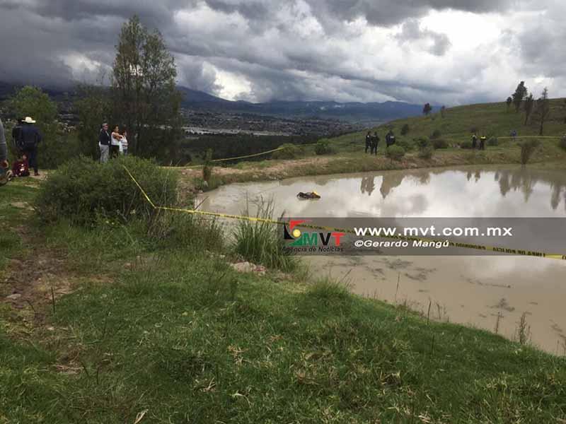 Mueren menor y su caballo ahogados tras caída en el Parque Sierra Morelos