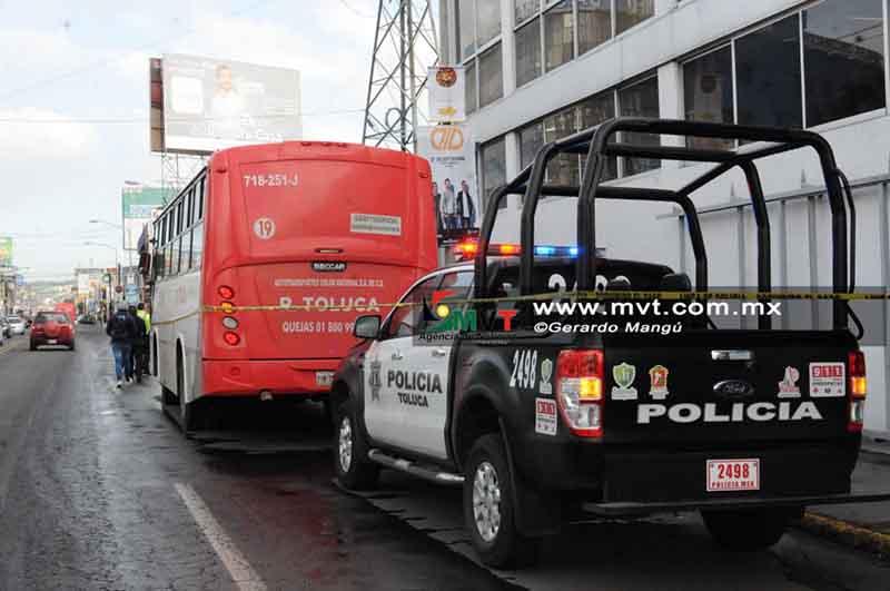 Implementan operativos tras muerte de estudiante en autobús