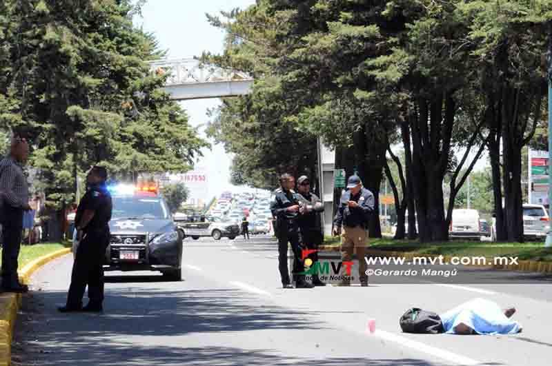 Fallece hombre arrollado en Paseo Tollocan