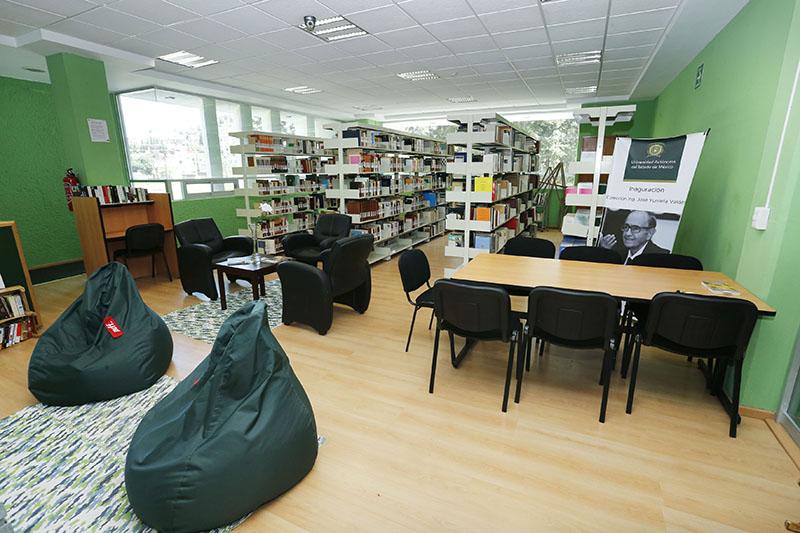 Estrenan sala de lectura en Biblioteca Central de la UAEMéx