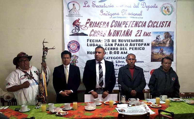 Organiza Deporte Indígena carrera de MTB