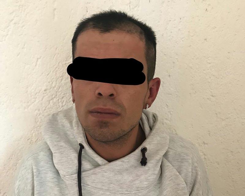"""Detienen en Metepec a """"El Pulques"""" por asalto a mano armada"""