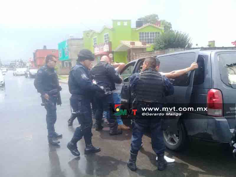 Detenidos en Ocoyoacac robaron mercancía por 300 mil pesos