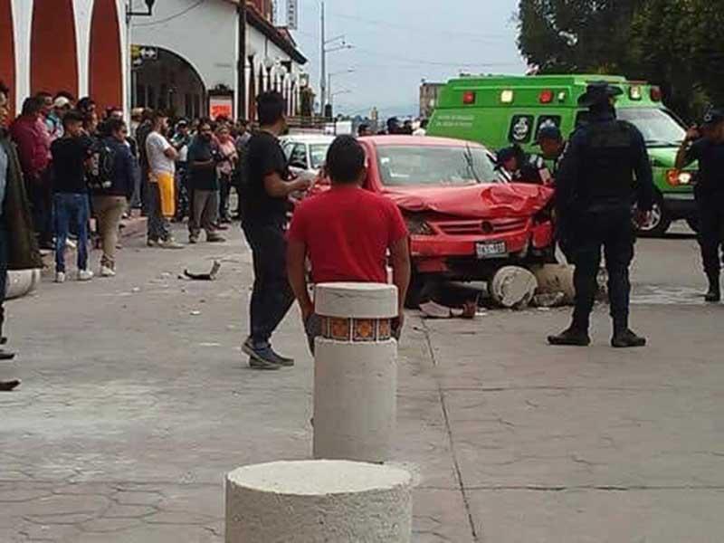 Matan, huyen y chocan en Almoloya de Juárez