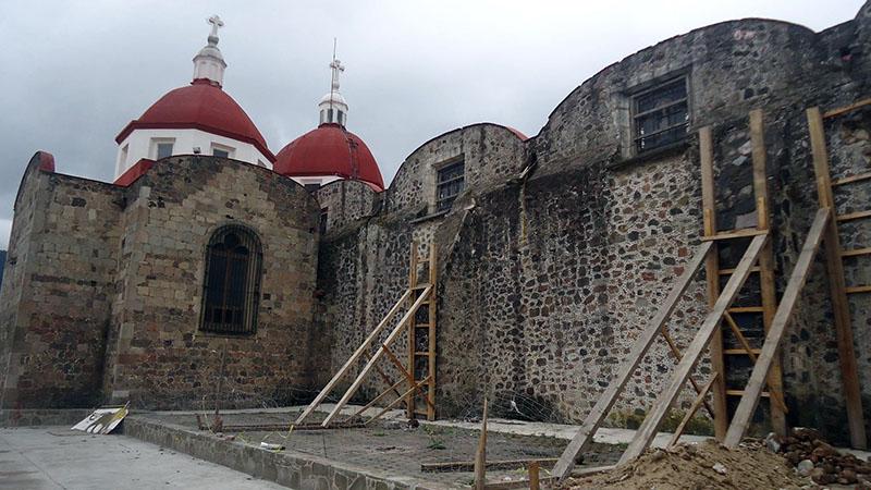 El 38 por ciento de inmuebles históricos dañados por sismo han sido reparados en Edoméx