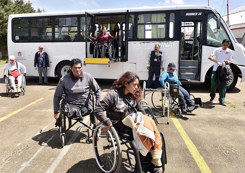 Una silla de ruedas no les es impedimento