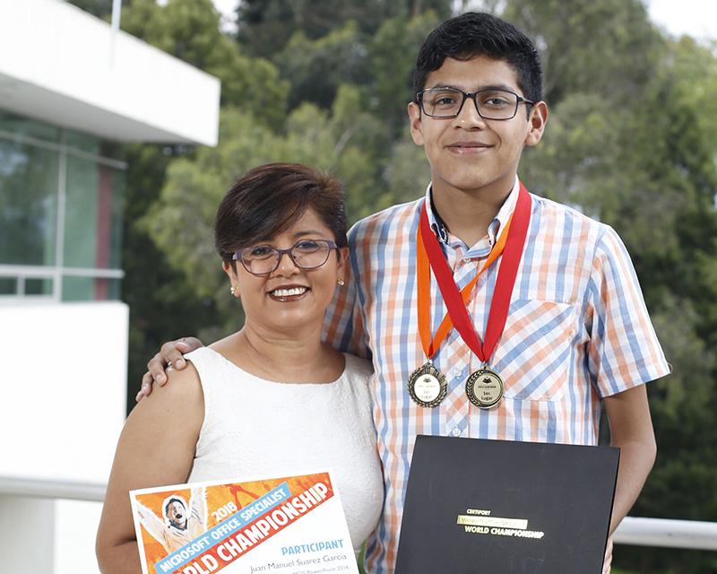 Universitario mexiquense, quinto lugar en el campeonato mundial Microsoft Specialist