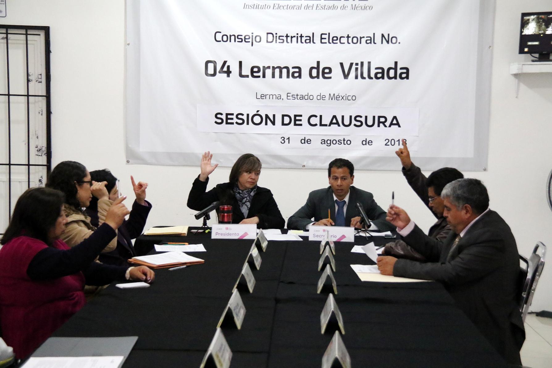 Resuelven medios de impugnación en el Consejo Electoral No. 04