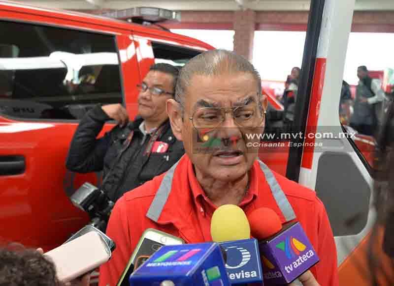 Tras 17 años en Protección Civil Edoméx, se va Arturo Vilchis