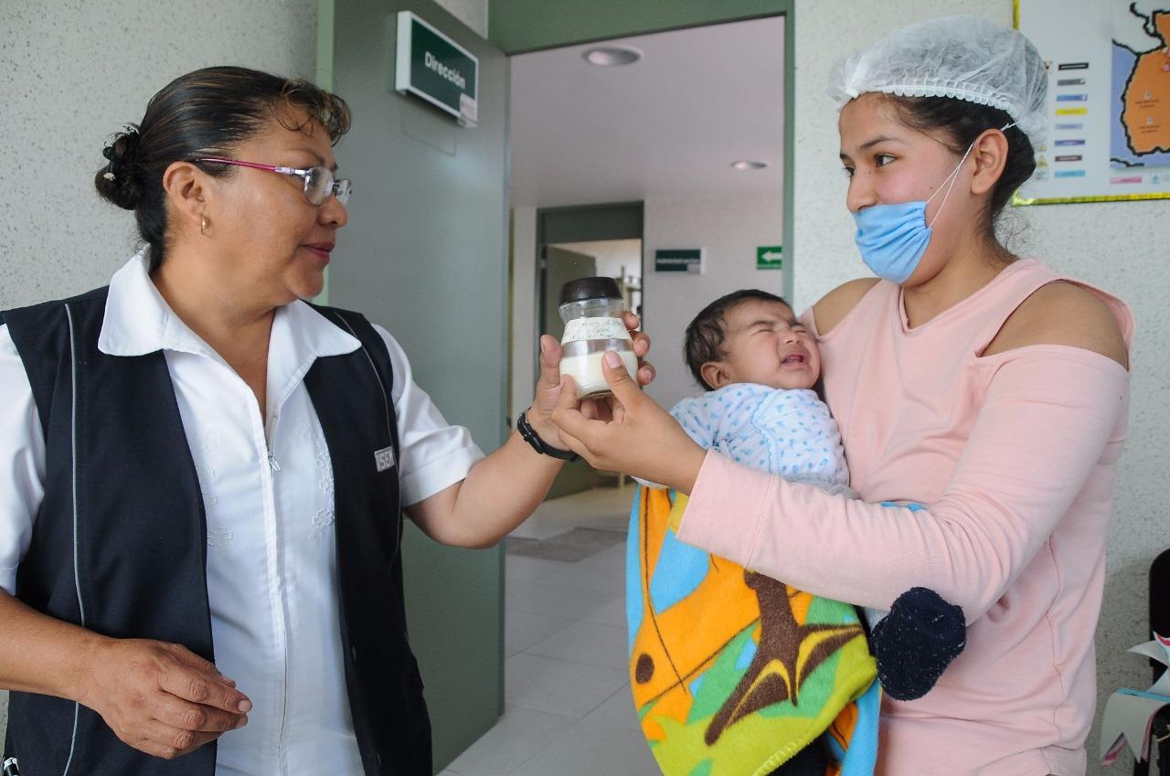 Inicia ISEM programa de recolección de leche humana