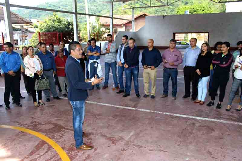 Recorre Uribe Navarrete el sur mexiquense presentando propuestas