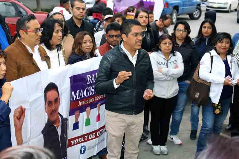 Plantea candidato tener oficinas del SMSEM en el Valle de México