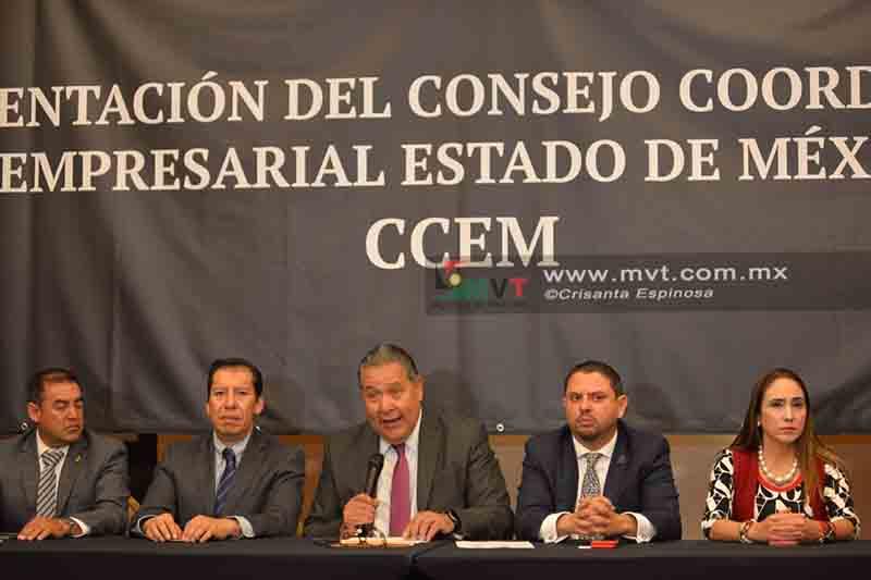 Presentan Consejo Coordinador Empresarial del Estado de México