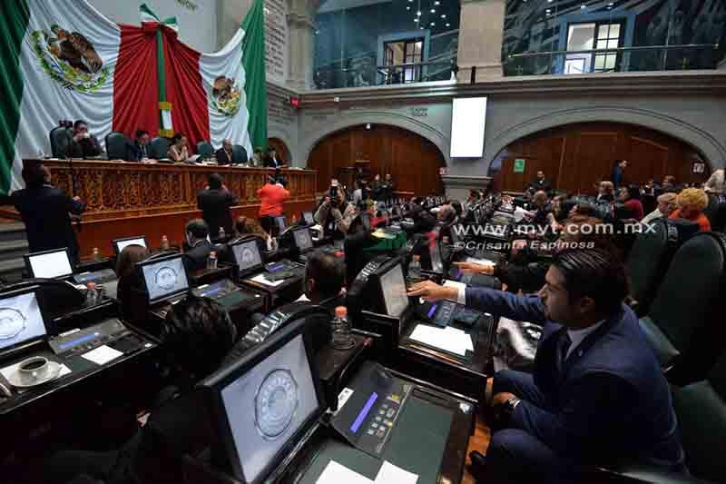 Reparten comisiones y comités en la LX Legislatura mexiquense