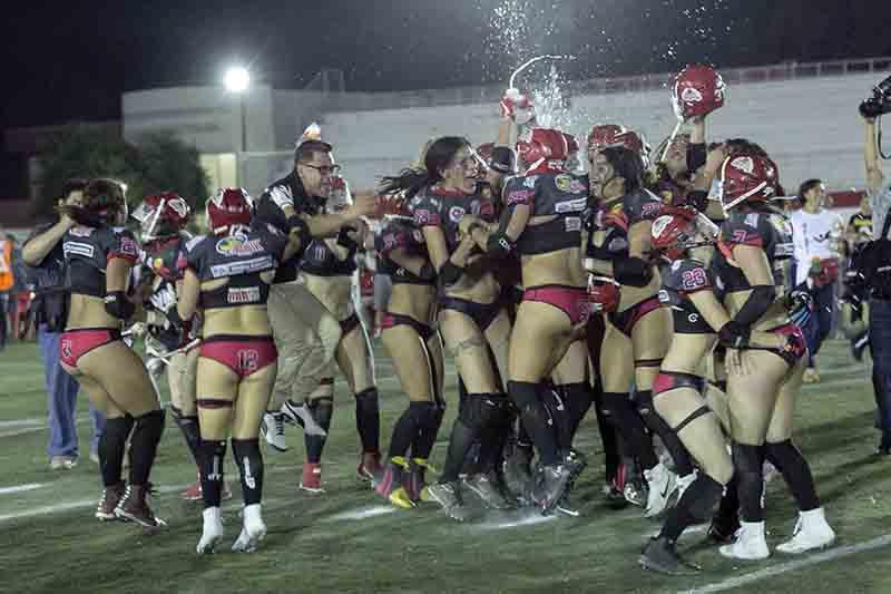 Red Devils ¡campeonas de la WFL!