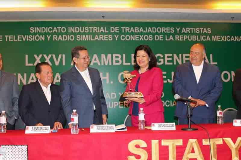 Inauguran Asamblea Ordinaria del SITATyR