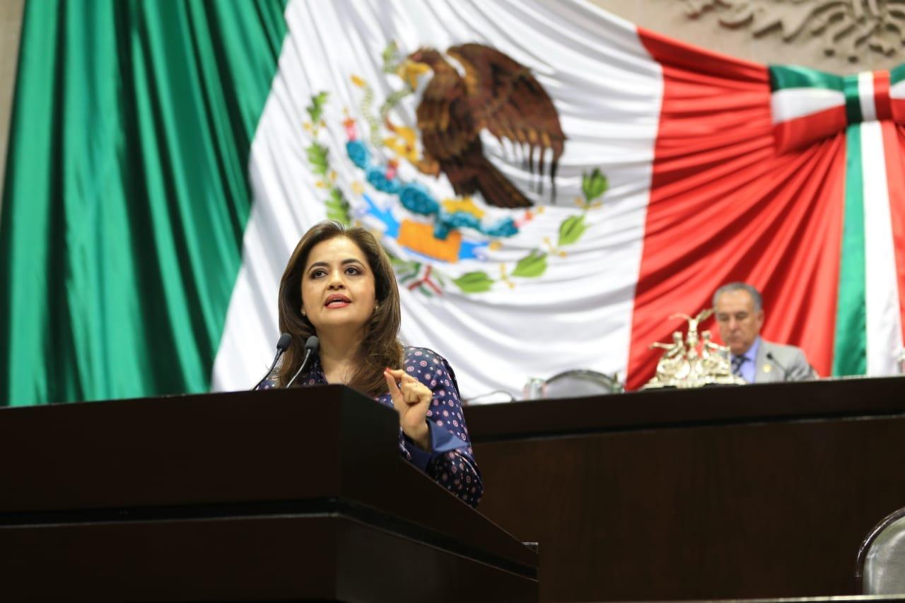 Ana Lilia Herrera presenta iniciativa para castigar con cárcel a constructores sin autorización