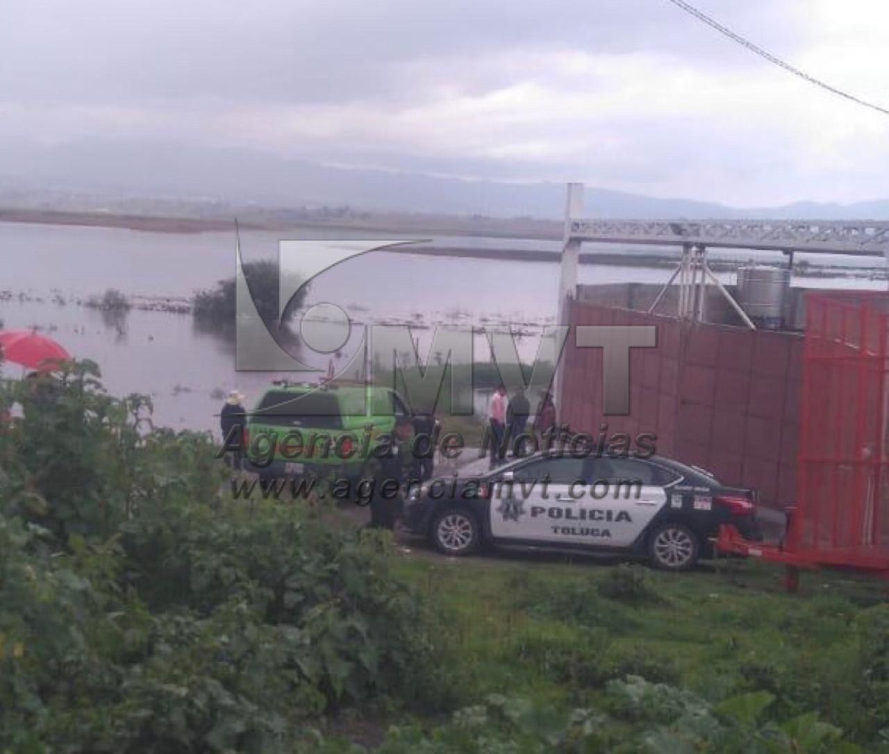 Ubican cadáver en laguna de Tlachaloya