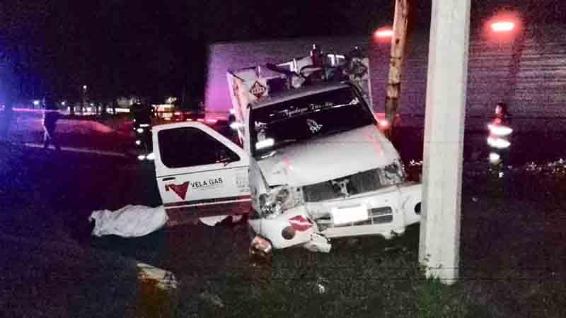 Fallece chofer en accidente en la Toluca-Palmillas