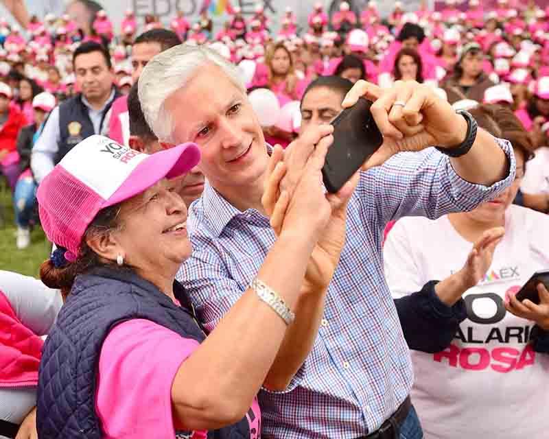 """Ahora llevan """"salario rosa"""" al oriente del Edoméx"""