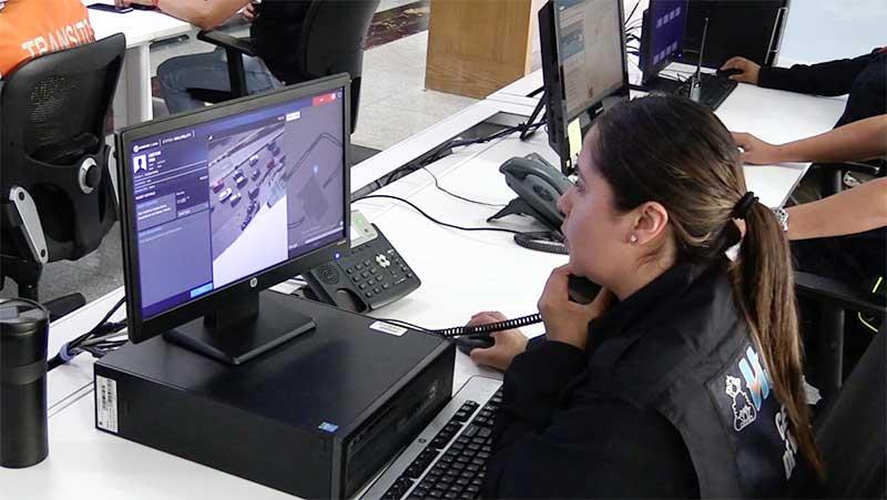 El presidente de Huixquilucan,Enrique Vargas,presentó la aplicación gratuita de emergencias c-Now.
