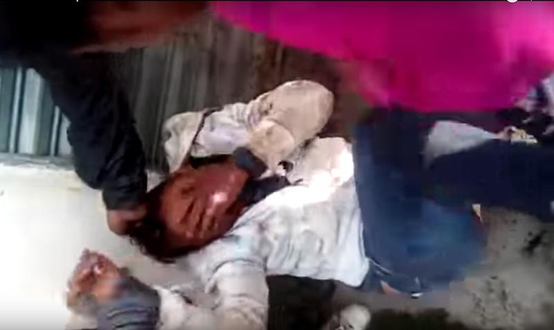 Amagan con linchar a hombre en San Nicolás Tolentino