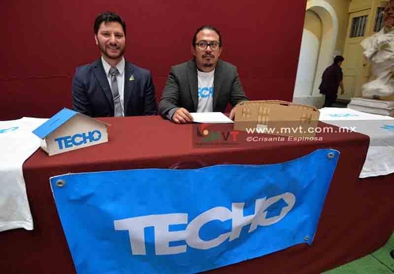 Construye Fundación Techo 145 refugios en Edoméx y van por más