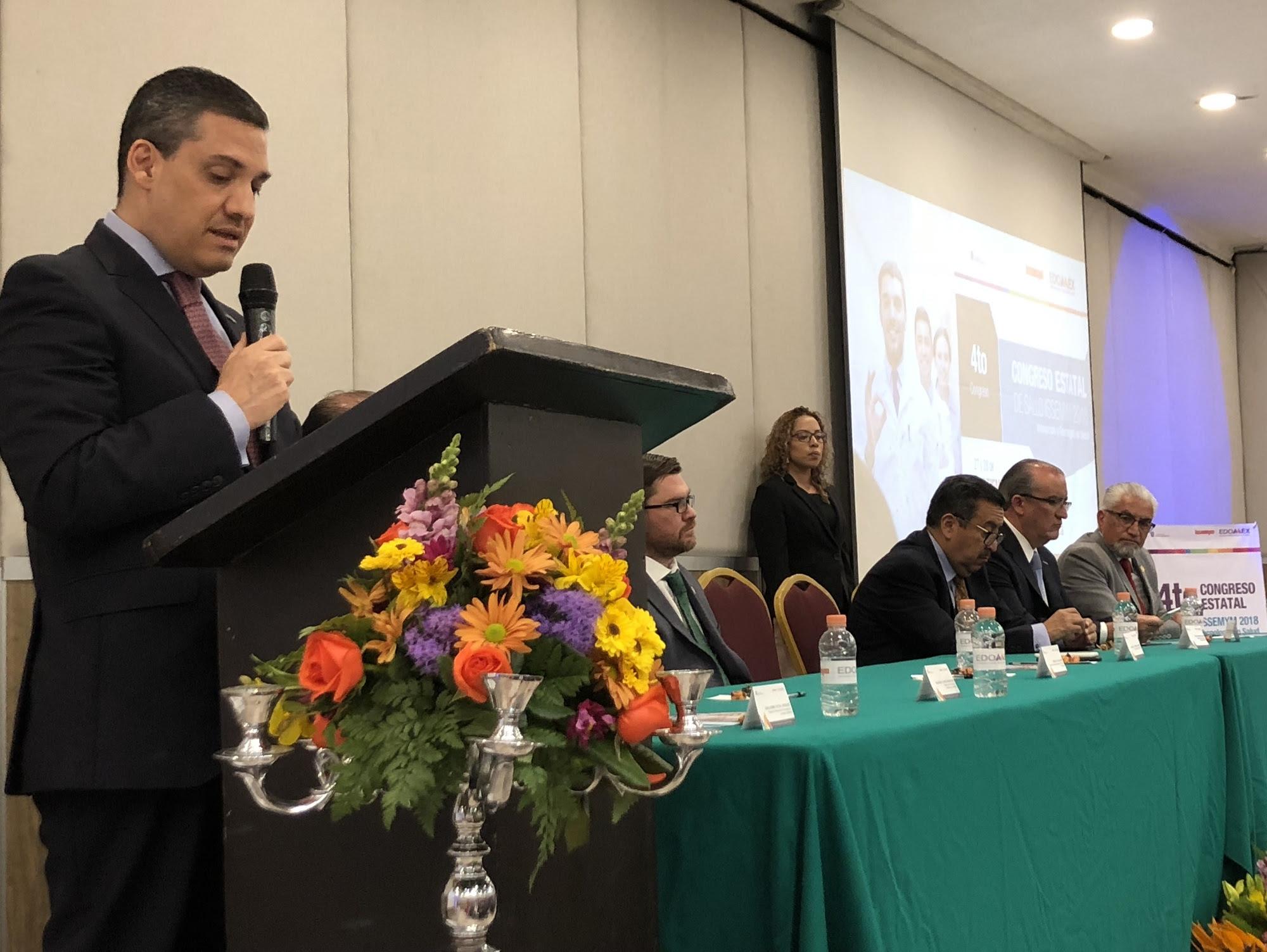 Presenta ISSEMyM  Congreso Estatal de Salud