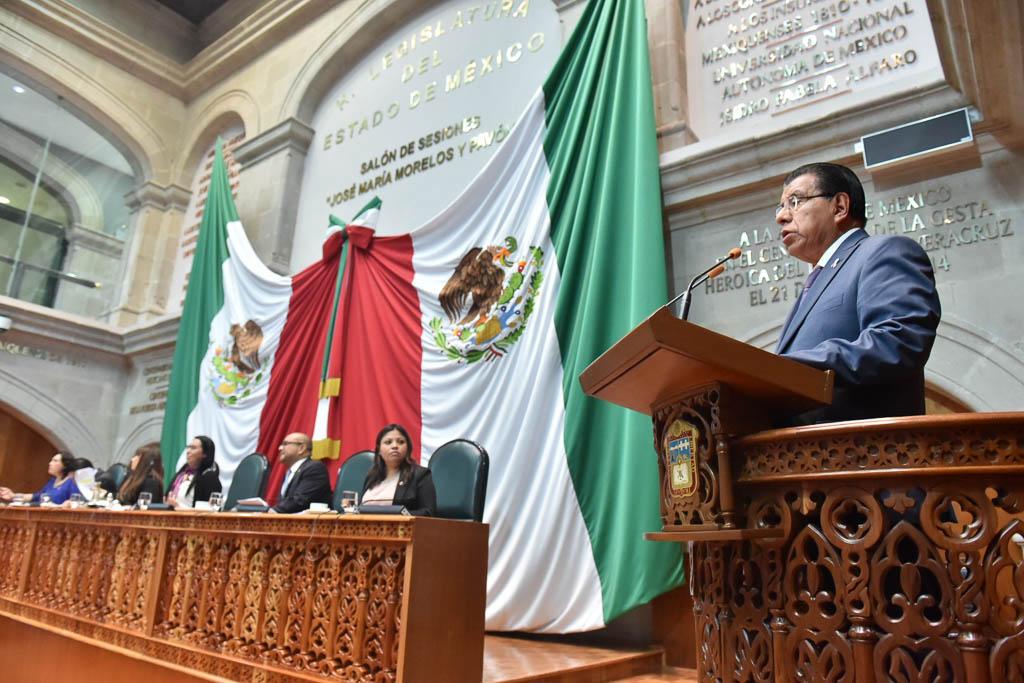 Propone Valentín González un canal de televisión del congreso mexiquense